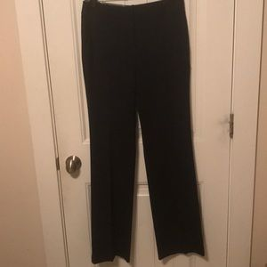 Ann Taylor Ann Fit Navy Trouser in Classic Size 0
